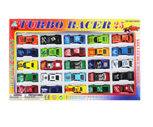 Picture of Die Cast 3.5in F/W Racing 25Pcs - No 26858