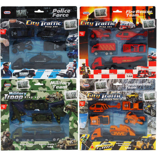 Picture of Diecast Cars & Trucks 6Pcs - No ARB2309