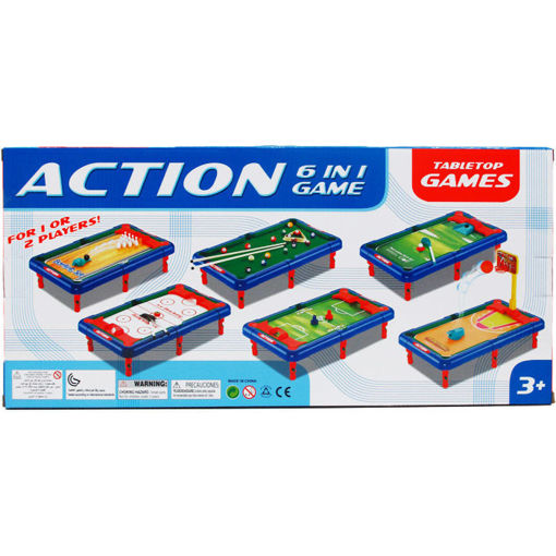 Picture of Tabletop Game 17In 6In1 - No ARY62818