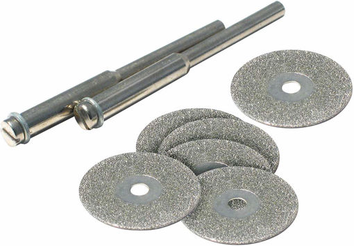 Picture of Diamond Cut Off Wheel Set 8Pc - No 48340
