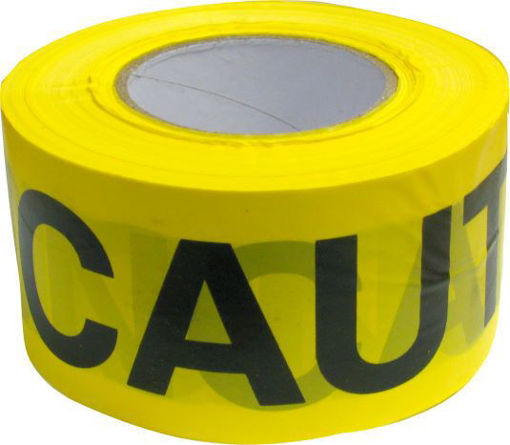 Picture of Tape Caution 3inX300Ft Yellow - No 71200