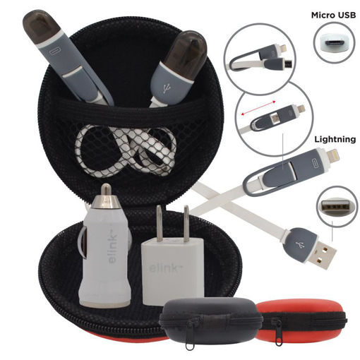 Picture of Charging Kit 3In1 Micro-Lightning - No EK-4163
