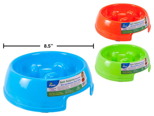 Picture of Dog Bowl, Anti-Gulping - No 79318