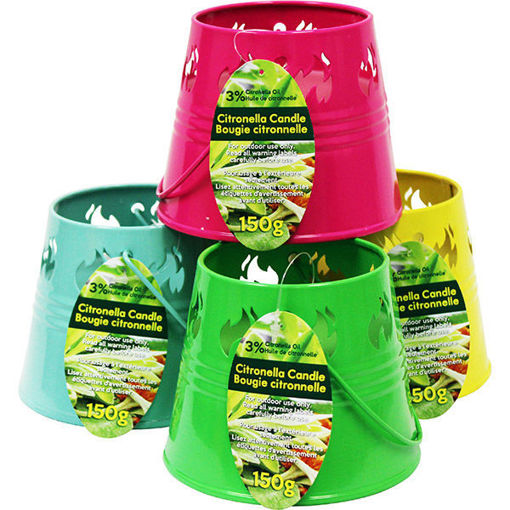 Picture of Citronella Candle Bucket 150Gr - No 078438