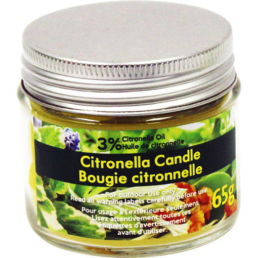 Picture of Citronella Candle Tin 65Gr - No 078435