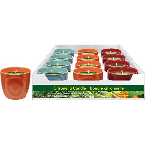 Picture of Citronella Candle-Ceramic Bowl 170G - No 078245