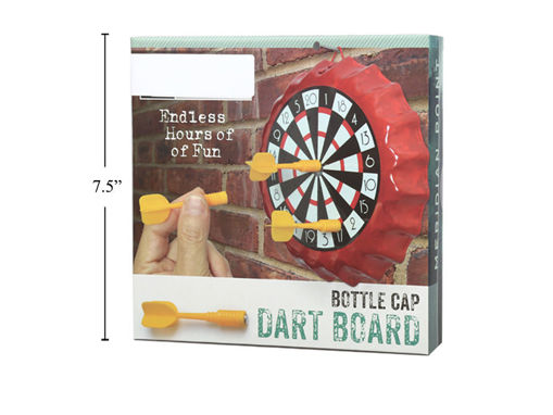 Picture of Bottle Cap Dartboard Game - No 17160