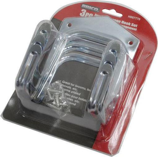 Picture of Hooks Storage Jumbo 3Pc - No H007770