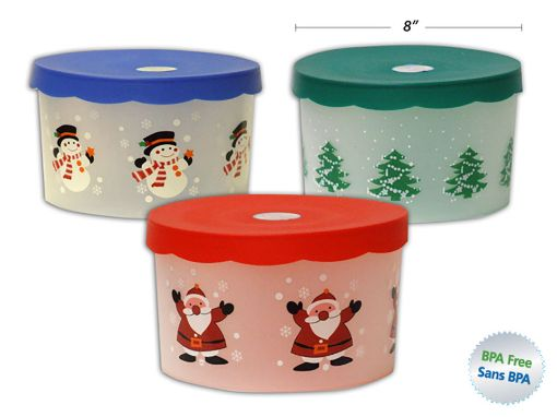 Picture of Xmas Cookie Container, 3Asst - No 32794